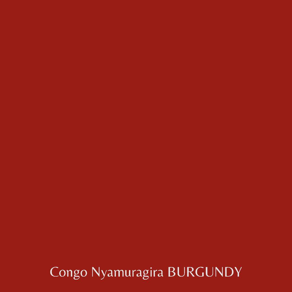 Congo Nyamuragira BURGUNDY